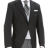 chaqueta chaqué negro