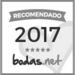 sello recomendado bodas.net en gris