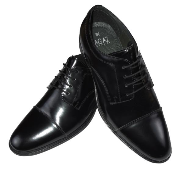 zapato negro brillo