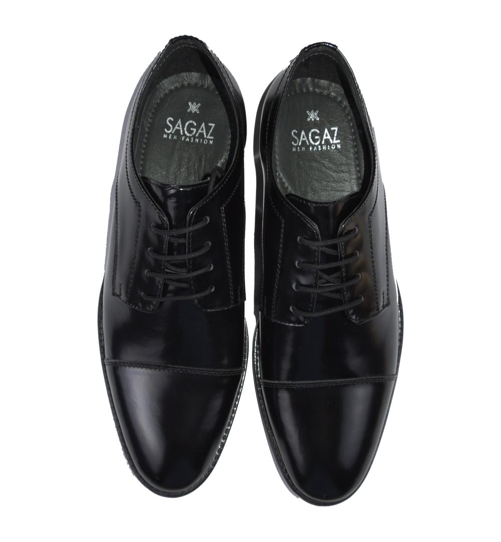 zapato brillo negro