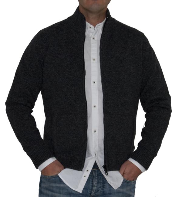 Cazadora sport lana marengo.