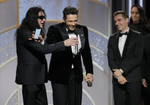 James Franco recoge su premio