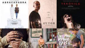 Películas Goya 2018