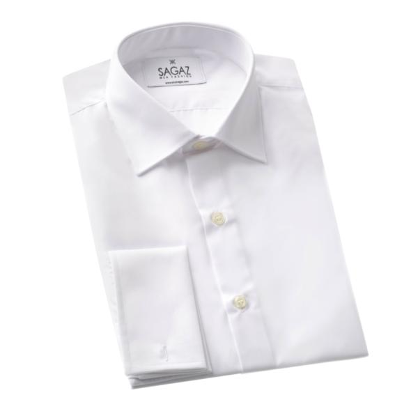 Camisa blanca gemelo