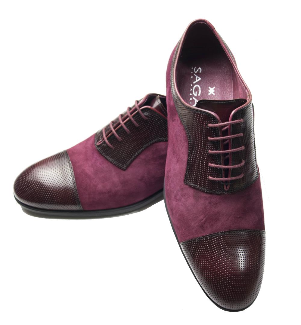 Zapato burdeos